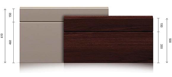 rowek centralny asymetryczny alfapanel. Black Bedroom Furniture Sets. Home Design Ideas